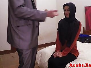 Arab habiba fucked like a whore for cash