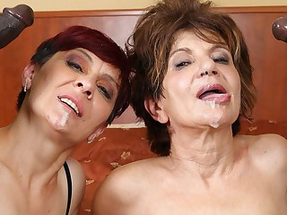 Grannies Hardcore Fucked Interracial Porn with Age-old Women sexual connection