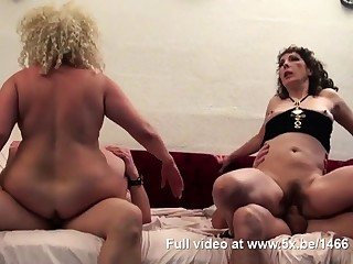 Regina and a team up banged by few cocks