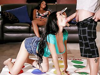 Stepmom triumvirate mating with stepdaughter's boyfriend