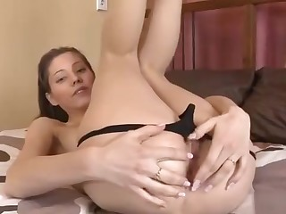 Innocent Cutie Is Unwrap Spread Vagina In Closeup And Having