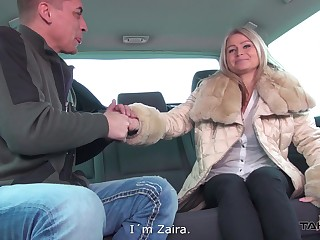 MILF Zaira simply loves railway carriage fucking anent strangers