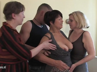 MOM matriarch and matriarch fucked by not their son