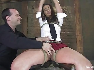 Teen Babe in arms Gets Compelled And Abused - ANALDIN