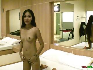 Scrawny Thai pussy laid waste good