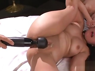 Depressed and lusty asian anal play