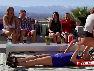 Adventurous coed couples on TV.
