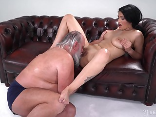 Prex young Ava Black hard fucked by a experienced man