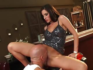 Bartender Kortney Kane Gets Her Pussy Licked On A Honda CBR Super Bike HOT