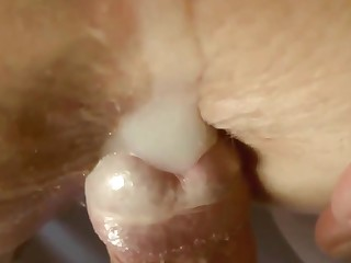 Pure sperm! Like a cure for this mature slut
