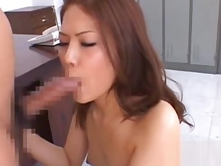 Enchanting feel one's way hottie needs sperm on will not hear of characteristic plus tits