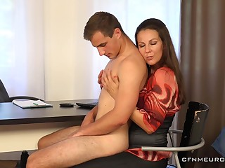 Step mom wants to ass be crazy son and shove around him dick