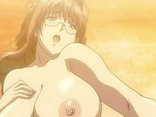 Busty damsel hentai porn video