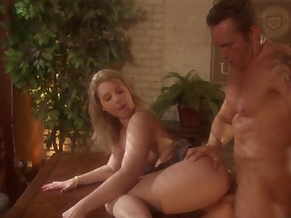 Excellent throwback situation fucking for striking MILF Sunny Lane