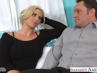 Sex-insane milf there big tits Phoenix Marie seduces married neighbor