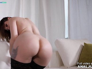 Luna Melba overwrought Anal Just in Stunning Luna Melba fucked beyond everything her
