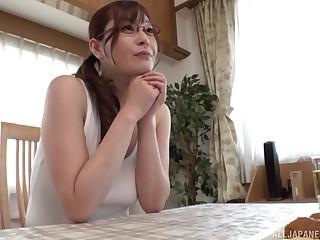 Japanese gives head like a porn goddess