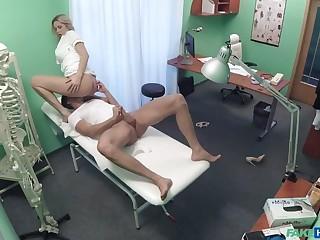 Patient fucks his sexy nurse