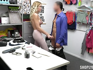 Deep sexual action be proper of shoplifter with nice ass