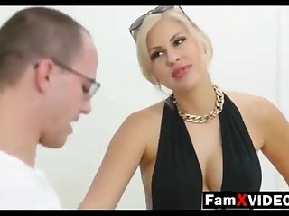 Steamy mommy pummels son-in-law together with trains daughter-in-law - Total Free Mother Hump Movies within reach FamXvideos.com